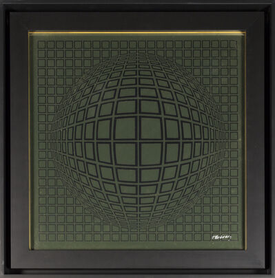 Victor Vasarely, 'Vega - Gold', 1970