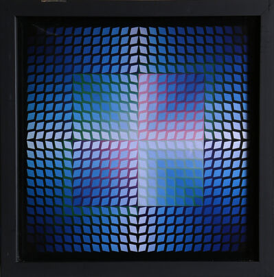 Victor Vasarely, 'Untitled 6 from Progressions', 1973