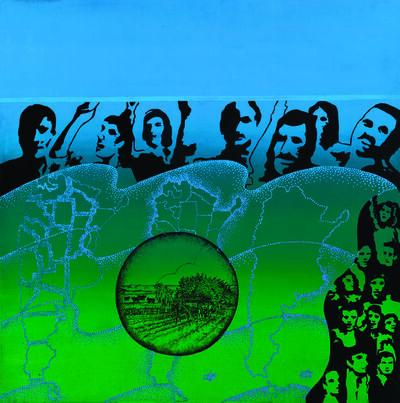 Elda Cerrato, 'Serie de la Realidad: Sueños. El Sueño de la Casita Propia III', 1976