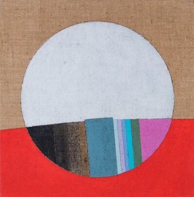 Eugenio Carmi, 'Bianco e rosso', 1985
