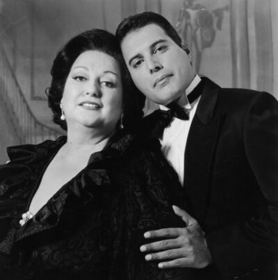 Terry O'Neill, 'Barcelona Duo: Freddie Mercury and Montserrat Caballe (1980's)', 1980's