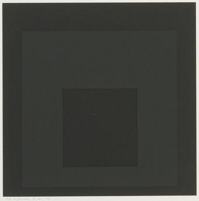 Josef Albers, 'Gray Instrumentation I i', 1974