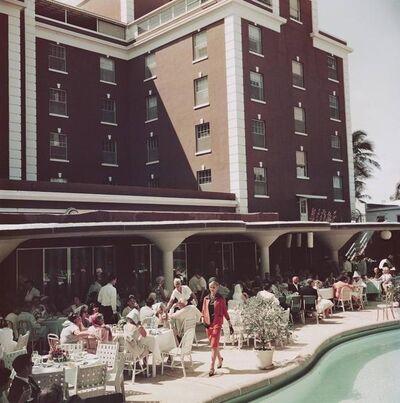 Slim Aarons, 'Poolside Promenade', 1961