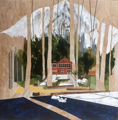 Charlotte Keates, 'Along the River'