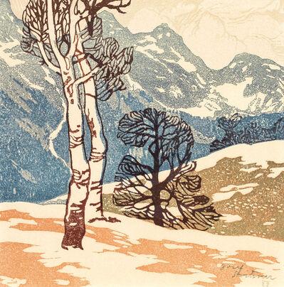Josef Stoitzner, 'Birches in the Mountains', 1906