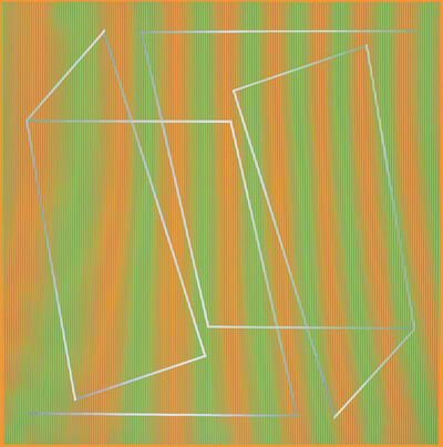Julian Stanczak, 'Structure in Yellow', 1989