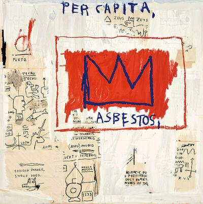After Jean-Michel Basquiat, 'Per Capita', 1983/2001