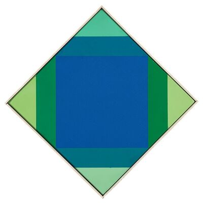 Max Bill, 'Radiazione dal blue', 1972-73