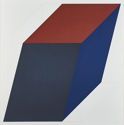 Sol LeWitt, 'From Forms Derived from a Cube (Colors Superimposed)', 1991