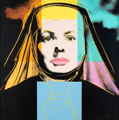 Andy Warhol, 'Ingrid Bergman, The Nun (FS II.314) ', 1983
