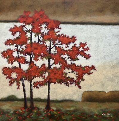 Lun Tse, 'Treetop Splendor', ca. 2000