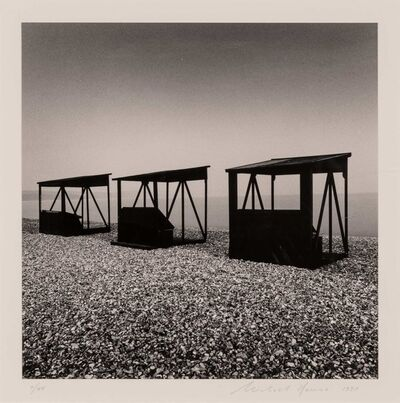 Michael Kenna, 'Three Huts, Weymouth, Dorset', 1990