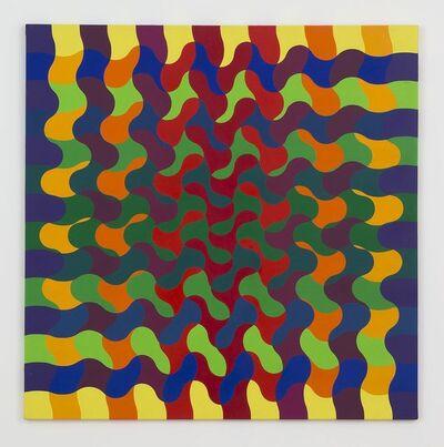 Julio Le Parc, 'Ondes 140 Sèrie 50 n°1', 1974