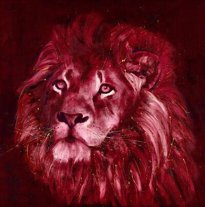 David Rees, 'Lion's Call', 2018