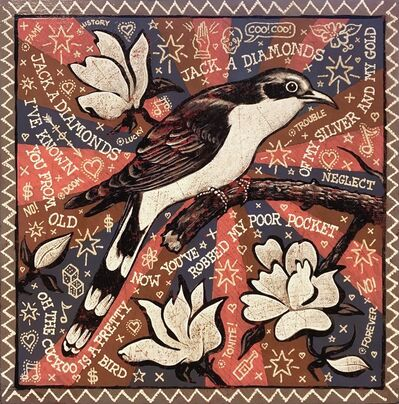 Jon Langford, 'Jack-A-Diamonds Coo Coo', 2016