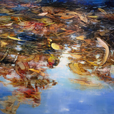 David Allen Dunlop, 'Leaves in Water', ca. 2017
