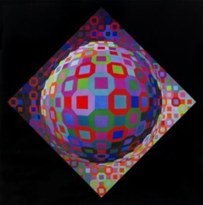 Victor Vasarely, 'Planetary', 1974