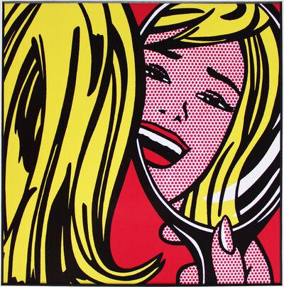"""Roy Lichtenstein, '""""Girl in Mirror"""" for Art Basel', 1987"""