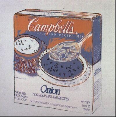 Andy Warhol, 'Onion Soup', 1986