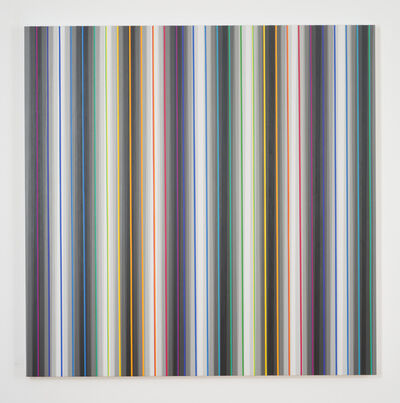 Gabriele Evertz, 'Eight Grays + the Spectrum, The Black Room Series', 2012