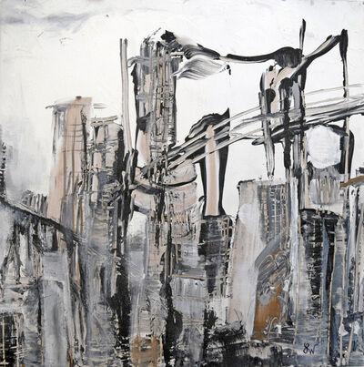 Boo Lynn Walsh, 'Bridges Triptych II', 2018
