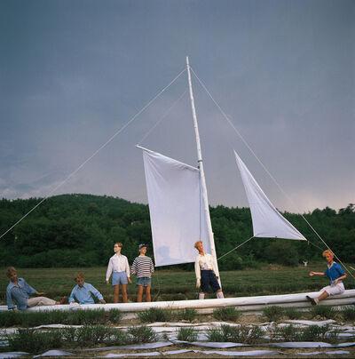 Bernard Faucon, 'Le navire, Les Grandes Vacances', 1979