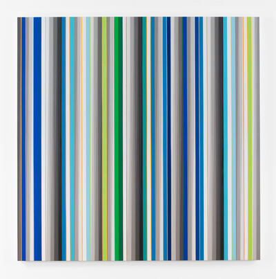 Gabriele Evertz, 'Blue+Green (Tikkum Olam)', 2015