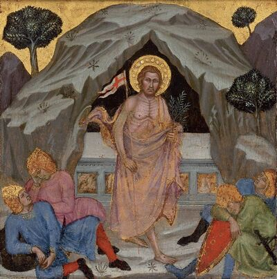 Taddeo di Bartolo, 'The Resurrection'