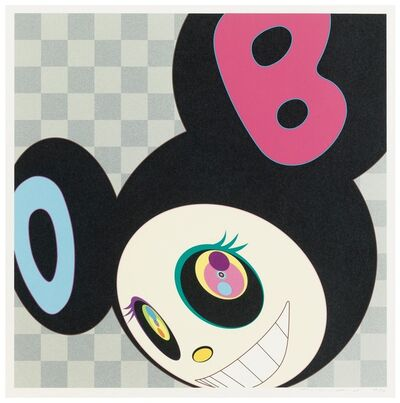 Takashi Murakami, 'And Then Black', 2005