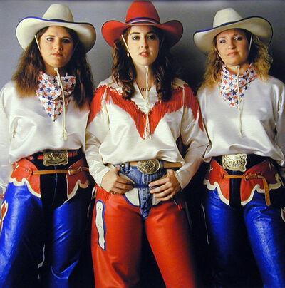 Michael O'Brien, 'Urban Cowgirls, Austin, Texas', 1989