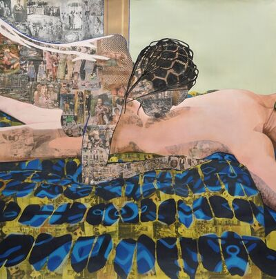 Njideka Akunyili Crosby, 'Thread', 2012