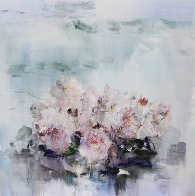 Darlene Cole, 'Velvet (roses by the lake)', 2018