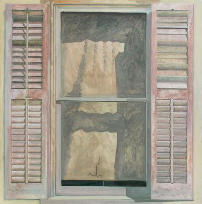 Lois Dodd, 'Window, Deserted House, Blairstown', 1979