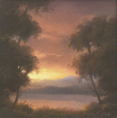 Jane Bloodgood-Abrams, 'Hudson River Sunset', 2020