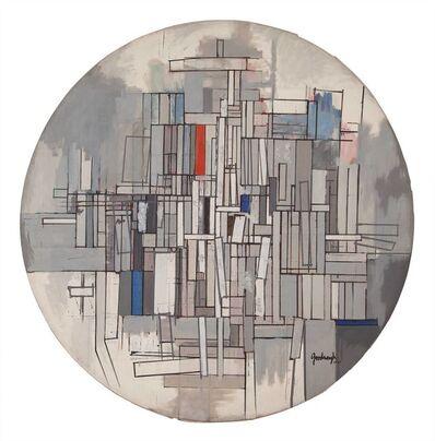 Robert Goodnough, 'Circle in Gray', 1962-63