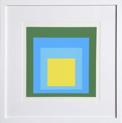 Josef Albers, 'Homage to the Square, Portfolio 1, Folder 5, Image 2', 1972