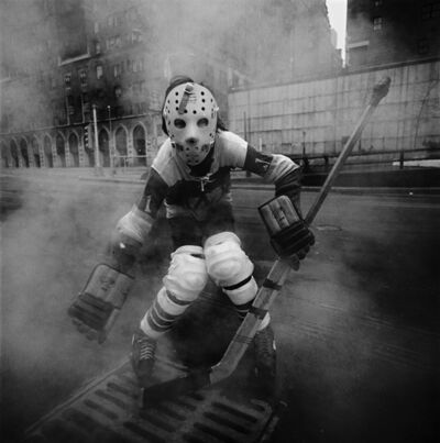 Arthur Tress, 'Hockey Player, New York City, NY', 1970 / 1970