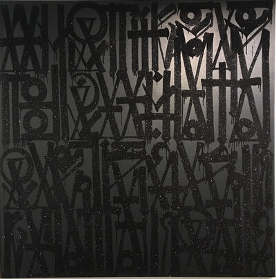 RETNA, 'What if I told you, you have this big square canvas to do whatever the fuck you want ', 2015