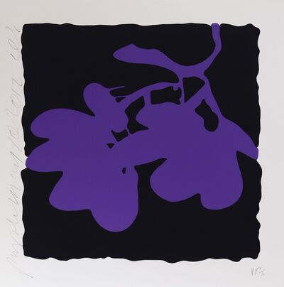 Donald Sultan, 'Purple May 10, 2012', 2012