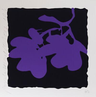 Donald Sultan, 'Purple May 10, 2012', 2012