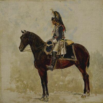 Jean-Louis-Ernest Meissonier, 'Un Cuirassier', 1876