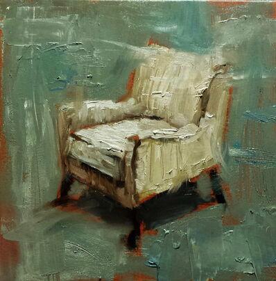 Bradford J. Salamon, 'Found White Chair', 2017