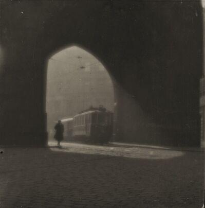 Josef Sudek, 'Rue de Prague', 1924