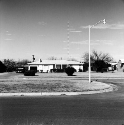 Frank Gohlke, 'Kessler Blvd. (3206 Kessler) looking north - Wichita Falls, Texas', 1972/1974