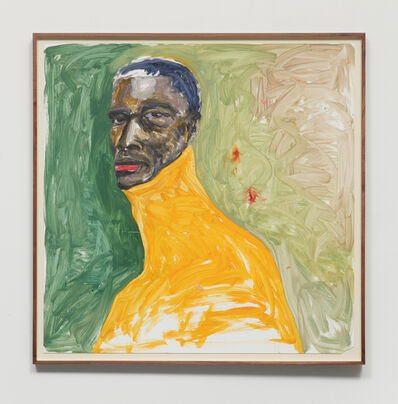 Serge Attukwei Clottey, 'Long Neck', 2020