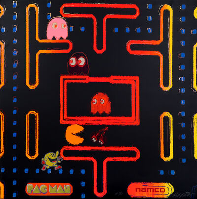 Rupert Jasen Smith, 'Pac-Man from the Homage to Andy Warhol Portfolio', 1989