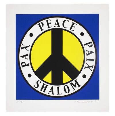 Robert Indiana, 'Shalom 1982', 2004