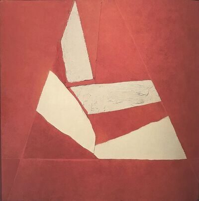 Sandra Blow, 'Red & White', 1982