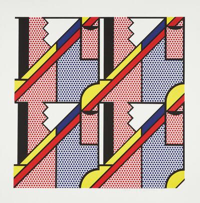 Roy Lichtenstein, 'Modern Print ', 1971
