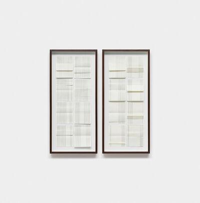 Carla Chaim, 'Cadernos de fluxo III díptico', 2016